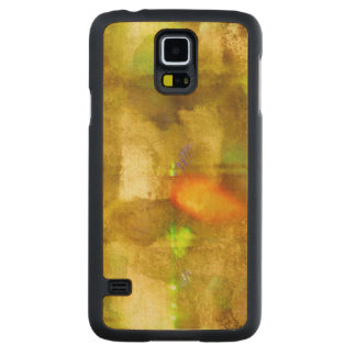 abstract texture color seamless brown, green carved maple galaxy s5 case