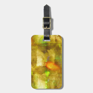 abstract texture color seamless brown, green luggage tag