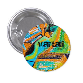 Abstract Texture Painting Vartali Round Button
