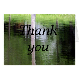 Abstract-Thank you Card