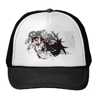 Abstract Thrash Design Mesh Hat