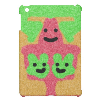 abstract three face pattern cover for the iPad mini