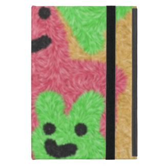 abstract three face pattern iPad mini case