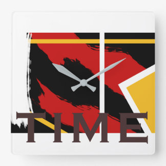 Abstract Time Clock