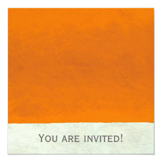 """Abstract Times Two ~  Invitations 5.25"""" Square Invitation Card"""