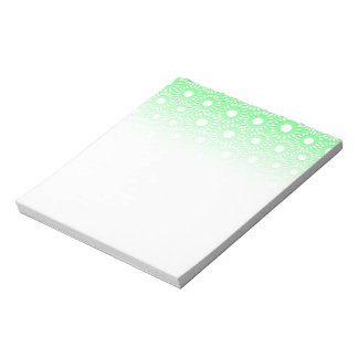 Abstract tiny floral notepad