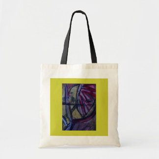 Abstract Tote by ValAries Budget Tote Bag
