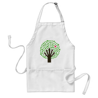 Abstract Tree Hugger Aprons