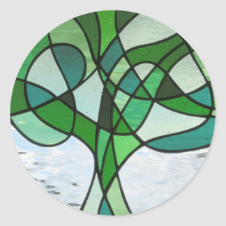 Abstract Tree of Life Sticker