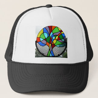 Abstract Tree of Life Trucker Hat