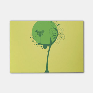 Abstract Tree Post-it® Notes