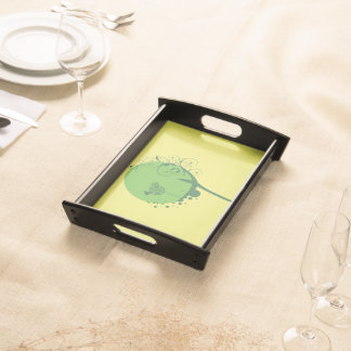 Abstract Tree Serving Tray
