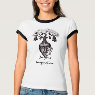 Abstract tree use your imagination cool t-shirt