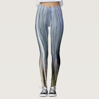 Abstract trees leggings