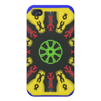 Abstract trendy pattern case for the iPhone 4