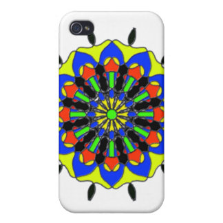 abstract trendy pattern cover for iPhone 4
