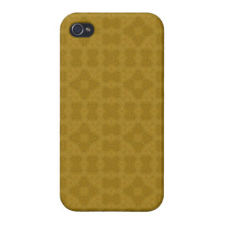 Abstract trendy wood pattern iPhone 4/4S cover