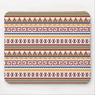 Abstract Tribal Aztec Navajo Pattern Mouse Mat
