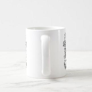Abstract tribal celtic design coffee mug