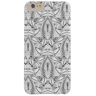 Abstract Tribal Doodle Barely There iPhone 6 Plus Case
