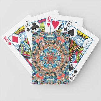Abstract Tribal Mandala Poker Deck