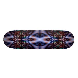 Abstract tribal pattern 18.1 cm old school skateboard deck