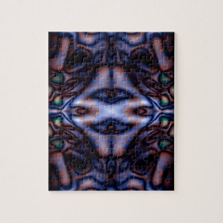 Abstract tribal pattern jigsaw puzzle