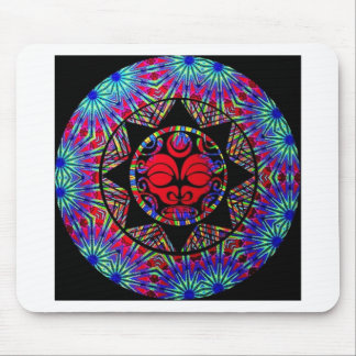 Abstract Tribal Sun gifts Mouse Pad