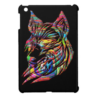 Abstract Tribal Wolf Case For The iPad Mini