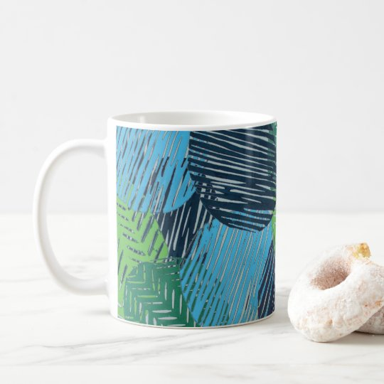 Abstract Tropical Art Mug