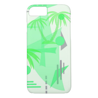 abstract tropical texture iPhone 8/7 case