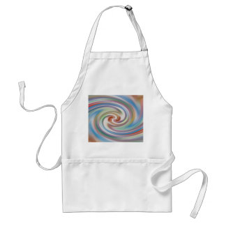 abstract twirl standard apron