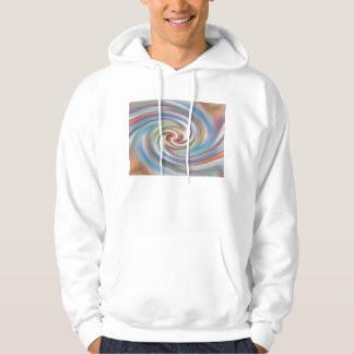 abstract twirl hoodie