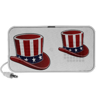 Abstract Uncle Sam's Yankee Doodle Speakers