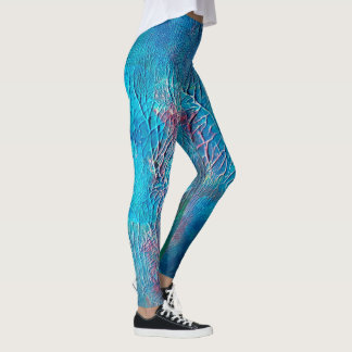 Abstract Undersea Painting | Leggings