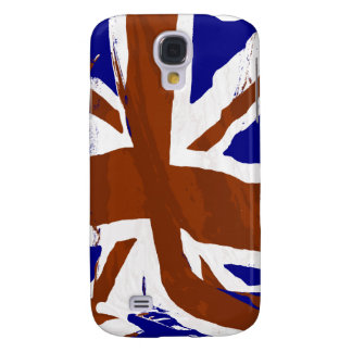 Abstract Union Jack Art Samsung Galaxy S4 Covers