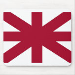 Abstract United Kingdom Flag Mouse Pads