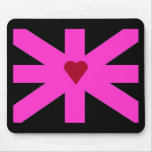 Abstract United Kingdom Flag Mousepad