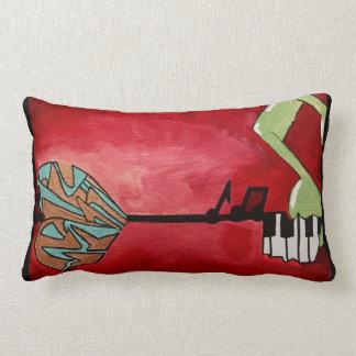 Abstract Urban Art Lumbar Cushion