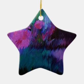 abstract vanity christmas ornament