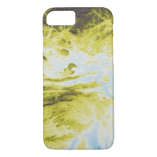 Abstract Variations- Arkansas- Blue to Yellow iPhone 8/7 Case