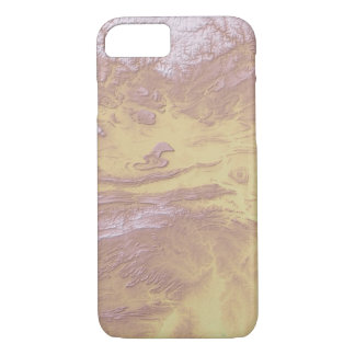 Abstract Variations- Arkansas- Topographic iPhone 8/7 Case