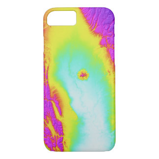 Abstract Variations- California- Tie Dyed iPhone 8/7 Case