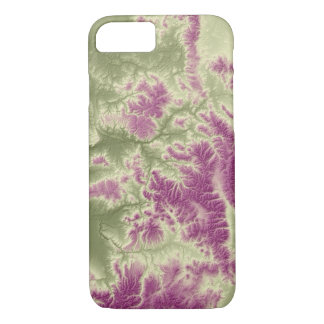 Abstract Variations- Colorado- Green to Purple iPhone 8/7 Case