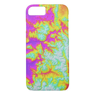 Abstract Variations- Colorado- Tie Dye iPhone 8/7 Case