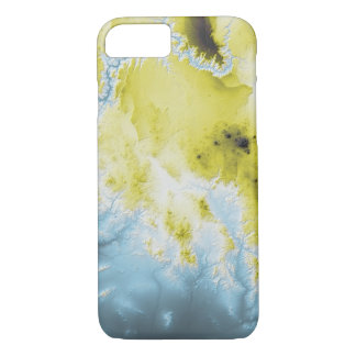 Abstract Variations- Grand Canyon- Blue to Yellow iPhone 8/7 Case