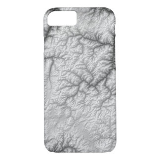 Abstract Variations- Idaho- Black and White iPhone 8/7 Case