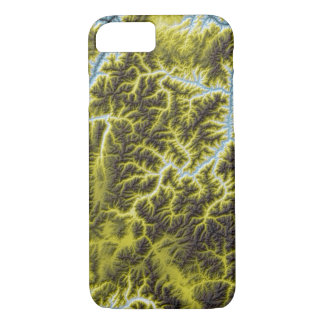 Abstract Variations- Idaho- Blue to Yellow iPhone 8/7 Case