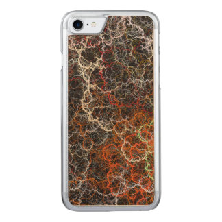 Abstract vibrant colorful fractal wires carved iPhone 8/7 case