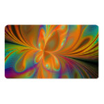 Abstract Vibrant Fractal Butterfly